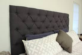 Tufted Headboard King Diy Tufted King Headboard Checking In With Chelsea