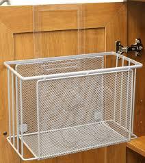 over door basket organizer cabinet under sink storage kitchen img