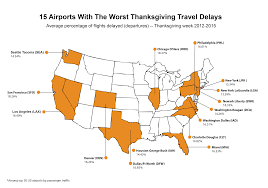 are airports busy on thanksgiving day you may want to avoid these 10 airports this holiday season airhelp