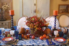thanksgiving in 2016 tablescape thanksgiving in blue and melon swede