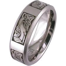 celtic wedding bands celtic wedding band laser engraved celtic wedding ring by