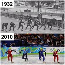 speed skating thenandnow vintage olympics pinterest speed