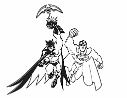 batman superman coloring pages battle gekimoe u2022 100435