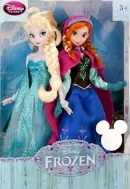 froze disney dolls anna and elsa d23 set i have anna and