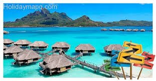 best vacation spots united states random information map
