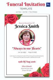 funeral invitation template fearsome memorial invitation templates 58 funeral and memorial