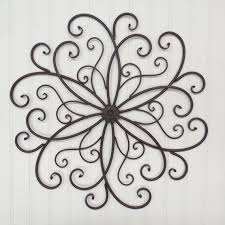 large wrought iron wall decor you color s metal wall decor