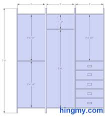 Normal Size Of A Master Bedroom Standard Closet Measurements This Design Is Meant Be As