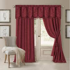 biscuit curtains u0026 drapes window treatments the home depot