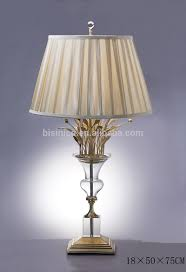 antique crystal u0026 brass table lamp table lighting home decorative