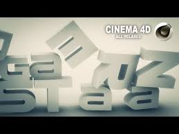 3d falling text cinema 4d template download c4d youtube