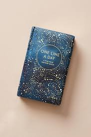 one line a day a five year memory book anthropologie