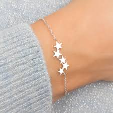 sterling silver star bracelet images Suki personalised sterling silver star bracelet by bloom boutique jpg