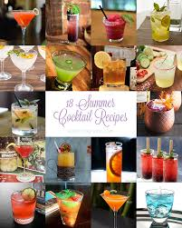 summer cocktail recipes 18 summer cocktail recipes work wear wander