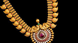 mango mala traditional indian gold jewellery designs