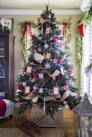 entracing old fashioned christmas tree decorating ideas