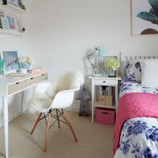 Diy Room Decor For Teenage Girls Bedroom Teen Girls Bedroom With Desk And Side Table Best Diy