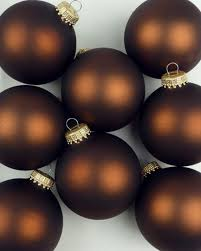 chocolate brown ornaments beautiful colors themes