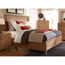 American Standard Bedroom Furniture by American Woodcrafters Natural Elements Panel Bed Walmart Com