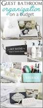 Bathroom Organization Ideas by 177 Best Organizing Bathroom Images On Pinterest Organized