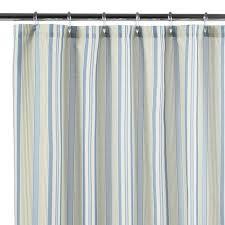 Vertical Striped Shower Curtain View Bath Accessories Leaf Patchwork Stripe Shower Curtain