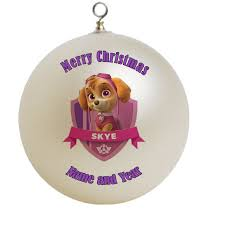 paw patrol ornament gift
