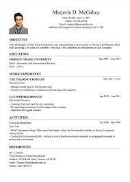 classic resume template professional resume cv templates with exles topcv me