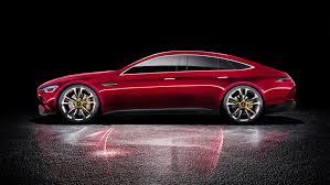 mercedes amg has built a four door gt concept car news bbc