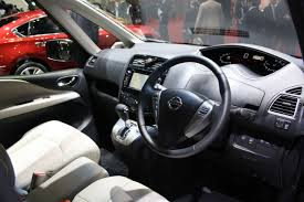 nissan serena 2014 nissan serena interior indian autos blog