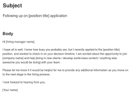Sample Follow Up Email After Resume by Ideas Collection Sample Follow Up Email After Interview To Check