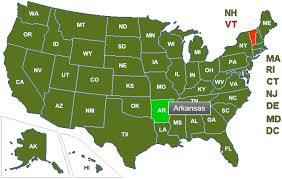 State Of Arkansas Map Arkansas Concealed Carry License Laws Info Reciprocity
