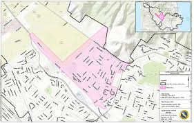 San Jose District Map by Calwater Issues South San Francisco Precautionary Do Not Drink
