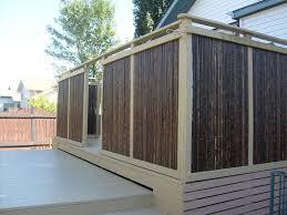 bamboo privacy screen home design ideas