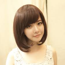 wigs short hairstyles round face cheap short hair side fringe find short hair side fringe deals on