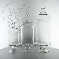 Apothecary Jars For Candy Buffet by Glass Cylinder Candy Jar Vases With Lids 12