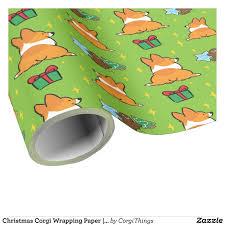 corgi wrapping paper christmas corgi wrapping paper corgithings corgi wrapping
