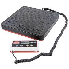 rubbermaid fg404088 pelouze 400 lb digital receiving scale with