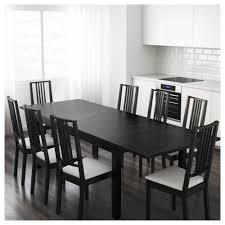 BJURSTA Extendable Table Brownblack X Cm IKEA - Ikea dining room table