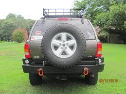 jeep cherokee rear bumper c4x4 wj grand cherokee rear bumper 99 01 wj rb99 jeepinoutfitters