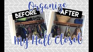Organize My Closet by Organize My Hall Closet Budget Organization Declutter And