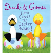 easter bunny book duck and goose here comes the easter bunny board book by tad