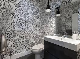 Bathroom Wallpaper Modern - contemporary bathroom wallpaper bathroom eclectic with victorian