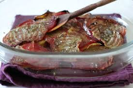 cuisiner betterave crue betterave chioggia rôtie avec encore du zaatar blogbio