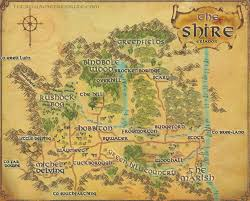 map from lord of the rings the shire map the lord of the rings shadows of angmar
