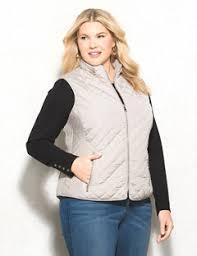 Plus Size Quilted Barn Jacket Women U0027s Plus Size Outerwear Jackets U0026 Coats Dressbarn