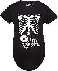 Halloween Shirts For Babies by Maternity Skeleton Baby T Shirt Halloween Costume Funny Pregnancy