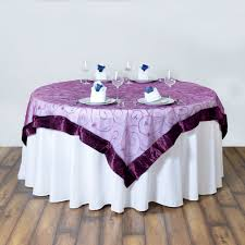 wedding linens for sale 10 embroidered organza 72x72 square table overlays wedding party