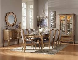 Gold Dining Room by Homelegance Chambord Dining Set Antique Gold 1828 Dining Set
