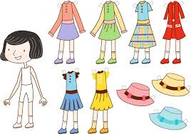 so stylish paper dolls crafts pinterest printable paper