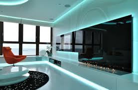 wohnzimmer led beleuchtung indirekte beleuchtung an der decke sorgt für behaglichkeit